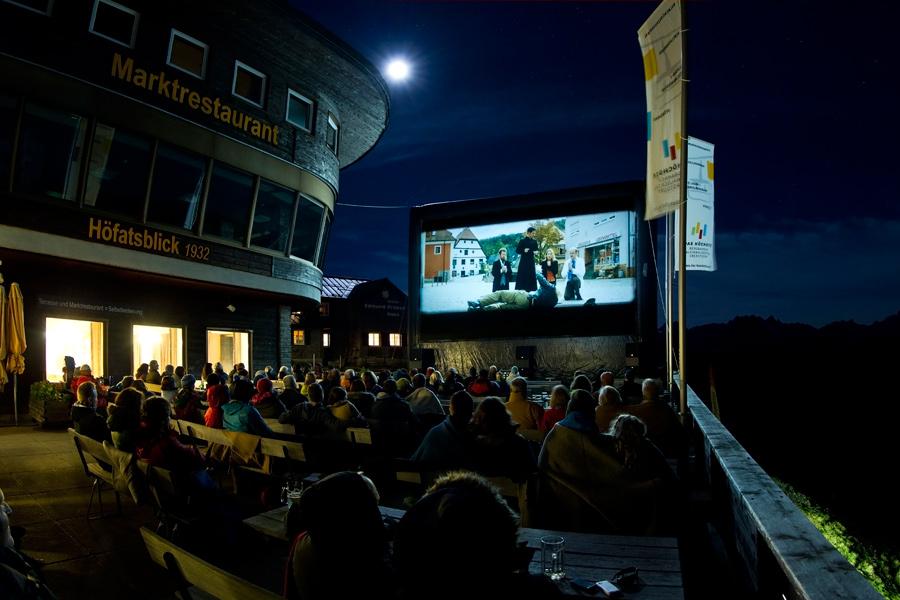 Open Air Kino am Nebelhorn